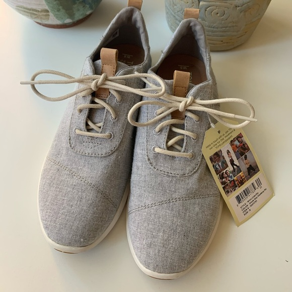Toms Shoes | Toms Drizzle Grey Chambray